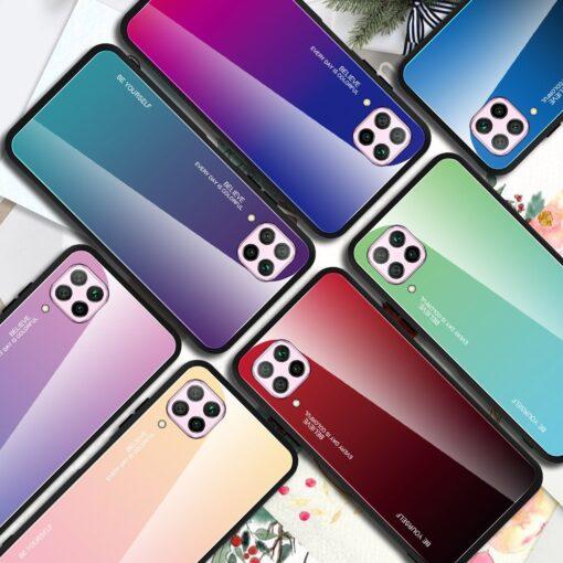 Huawei P40 Lite umbris gradient roosa 14