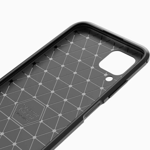 Huawei P40 Lite umbris silikoonist Carbon must 5