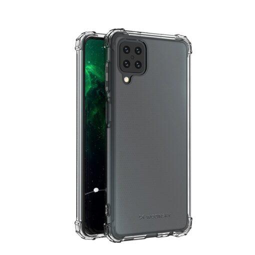 Samsung A12 umbris tugevdatud nurkadega silikoonist 2