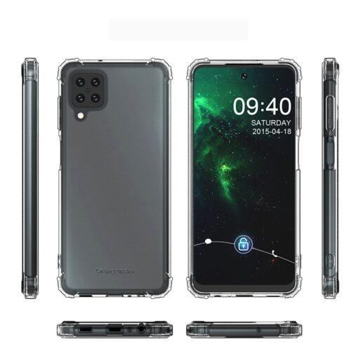 Samsung A12 umbris tugevdatud nurkadega silikoonist 6