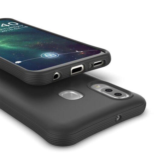 Samsung A20e tugevdatud nurkadega silikoonist umbris must 1
