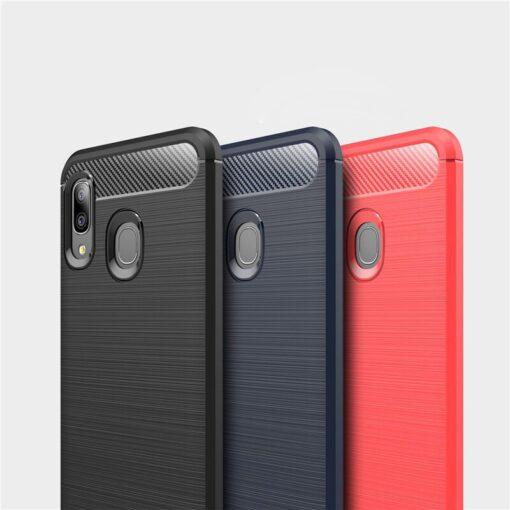 Samsung A20e umbris silikoonist Carbon must 6