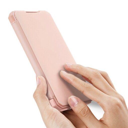Samsung A21S kunstnahast kaaned kaarditaskuga DUX DUCIS Skin X must 12
