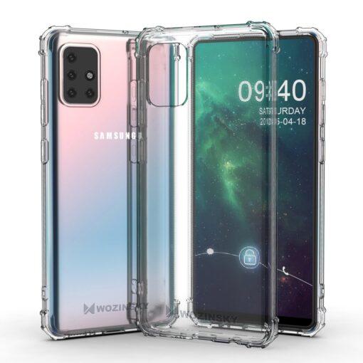 Samsung A21S umbris tugevdatud nurkadega silikoonist 2