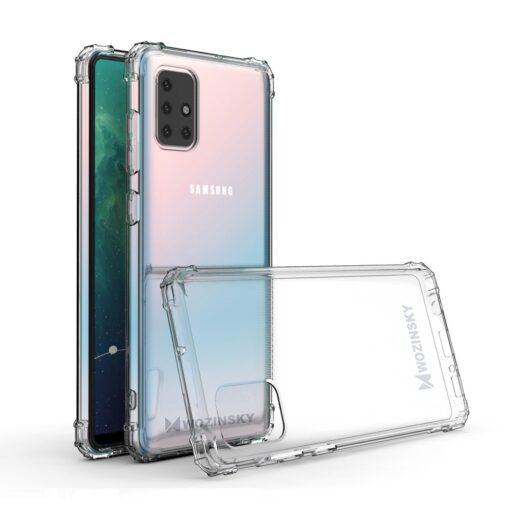 Samsung A21S umbris tugevdatud nurkadega silikoonist