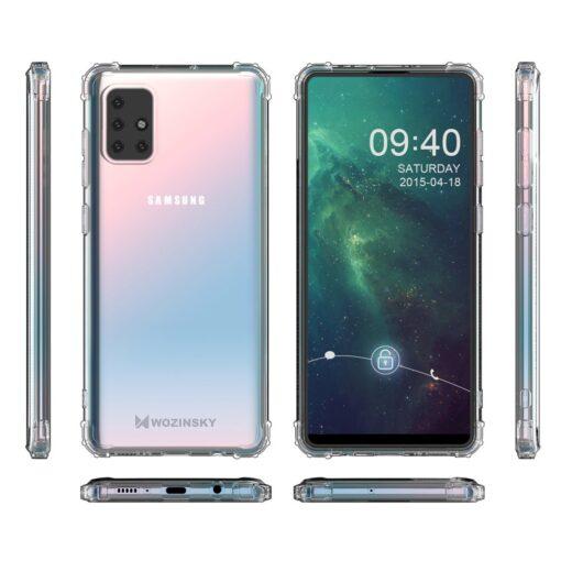 Samsung A21S umbris tugevdatud nurkadega silikoonist 8