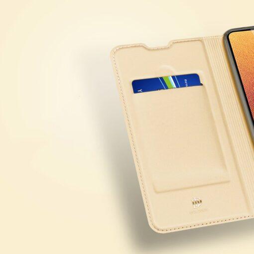 Samsung A32 4G kunstnahast kaaned DUX DUCIS Skin Pro Bookcase sinine 12