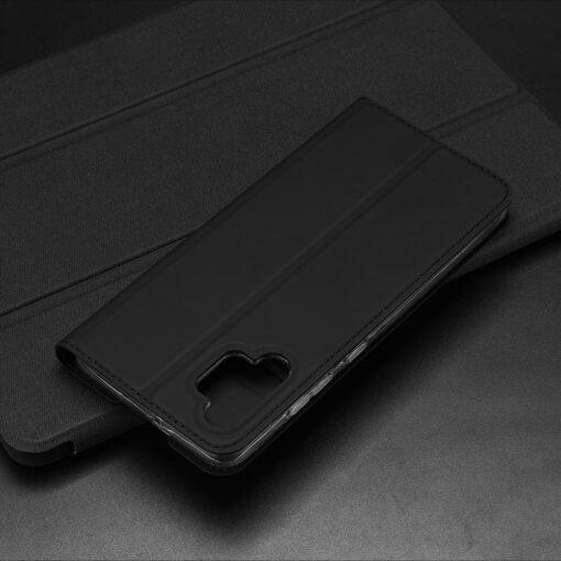 Samsung A32 4G kunstnahast kaaned DUX DUCIS Skin Pro Bookcase sinine 16