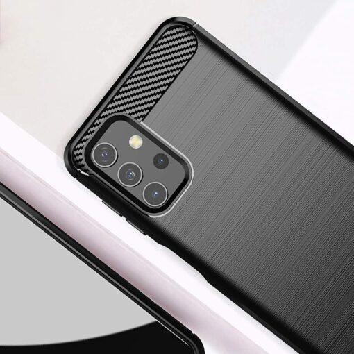 Samsung A32 4G umbris silikoonist Carbon must 4