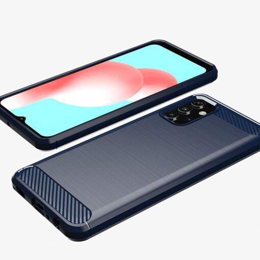 Samsung A32 4G umbris silikoonist Carbon sinine 3