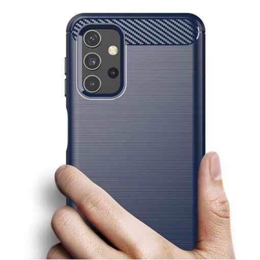Samsung A32 4G umbris silikoonist Carbon sinine 4