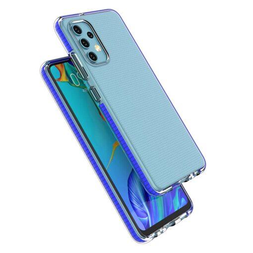 Samsung A32 4G umbris silikoonist varvilise raamiga must 2