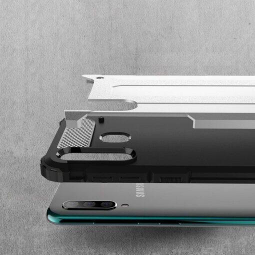 Samsung A50 umbris Hybrid Armor plastikust taguse ja silikoonist raamiga hobe 2