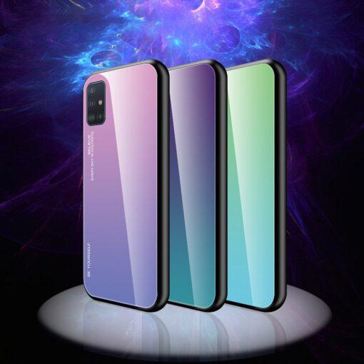 Samsung A51 umbris gradient must punane 1