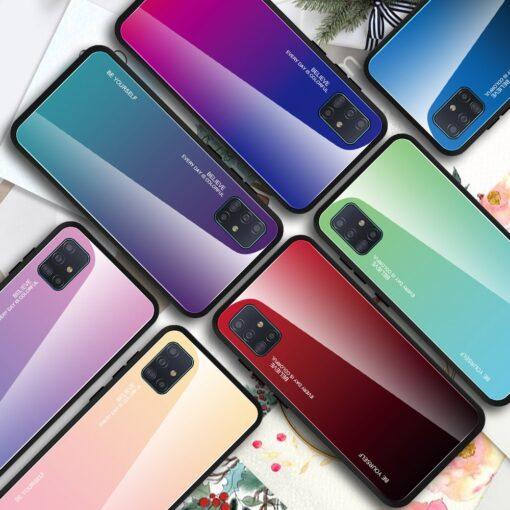 Samsung A51 umbris gradient must punane 14