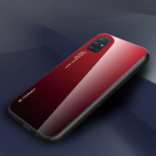 Samsung A51 umbris gradient must punane 15