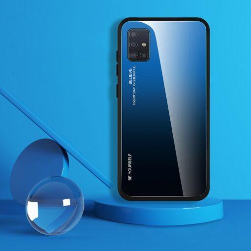 Samsung A51 umbris gradient must punane 2