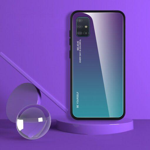 Samsung A51 umbris gradient must punane 3