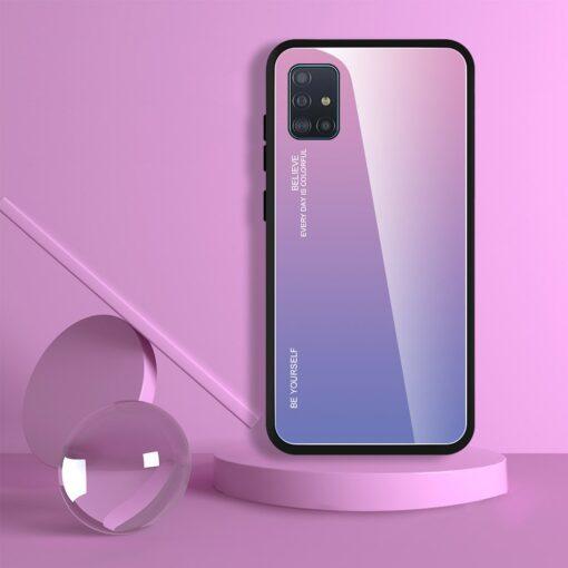 Samsung A51 umbris gradient must punane 4
