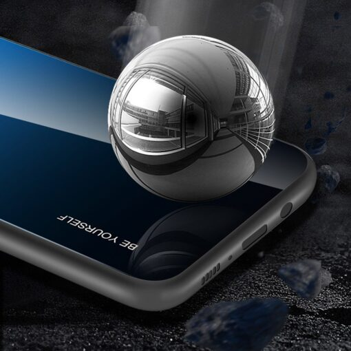 Samsung A51 umbris gradient must punane 8