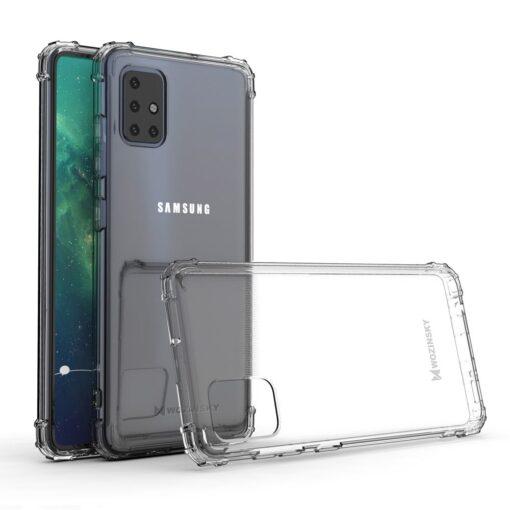 Samsung A51 umbris tugevdatud nurkadega silikoonist 1