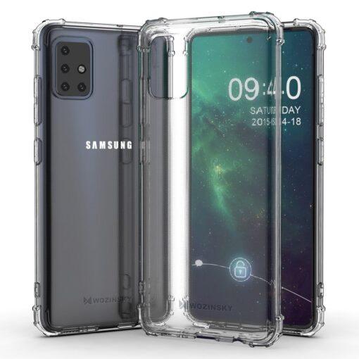 Samsung A51 umbris tugevdatud nurkadega silikoonist 2