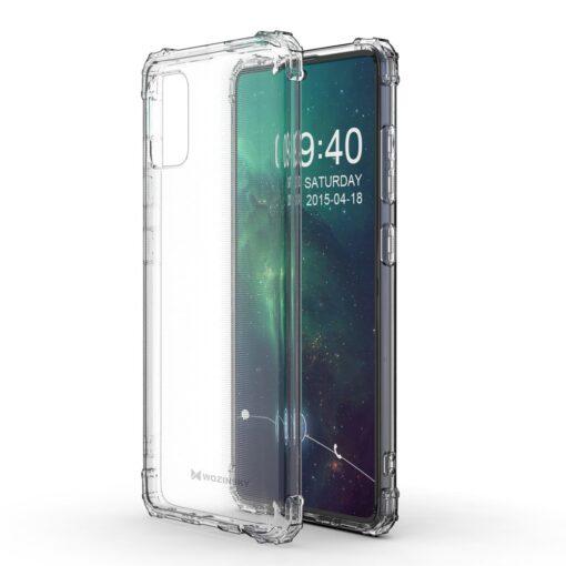 Samsung A51 umbris tugevdatud nurkadega silikoonist 3