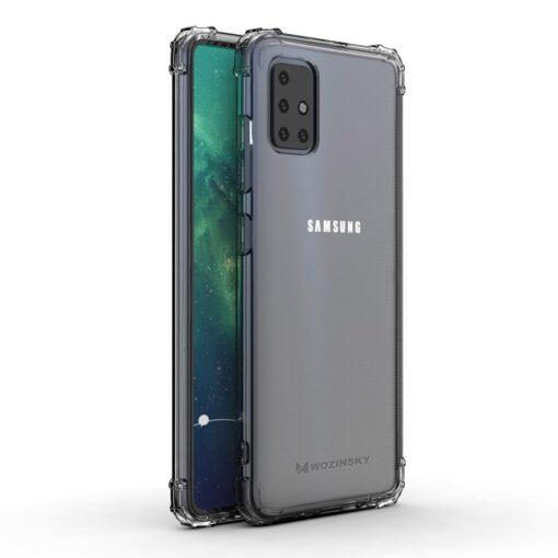 Samsung A51 umbris tugevdatud nurkadega silikoonist