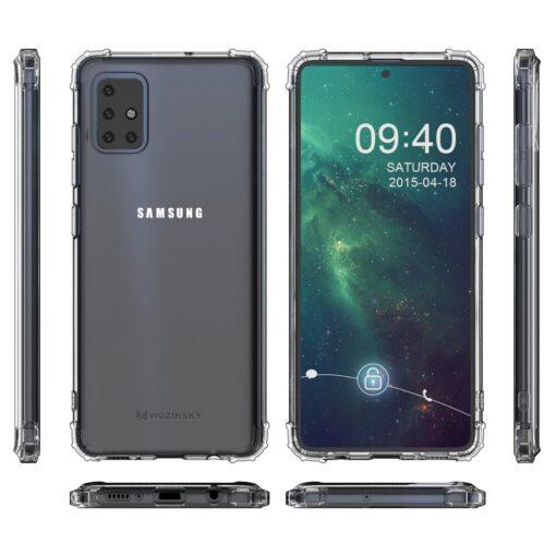Samsung A51 umbris tugevdatud nurkadega silikoonist 8