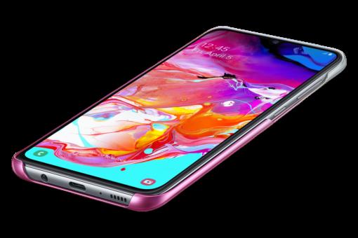 Samsung A70 Samsung Gradation plastikust roosa EF AA705CPEGWW 4