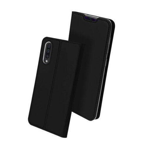 Samsung A70 kunstnahast kaaned DUX DUCIS Skin Pro Bookcase must 1