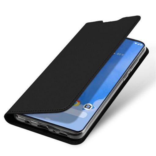 Samsung A70 kunstnahast kaaned DUX DUCIS Skin Pro Bookcase must 3