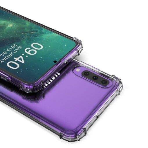 Samsung A70 umbris tugevdatud nurkadega silikoonist 7
