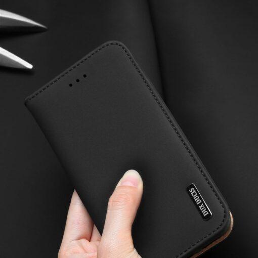 Samsung S10 kaaned nahast kaarditasku ja rahataskuga DUX DUCIS Wish must 6