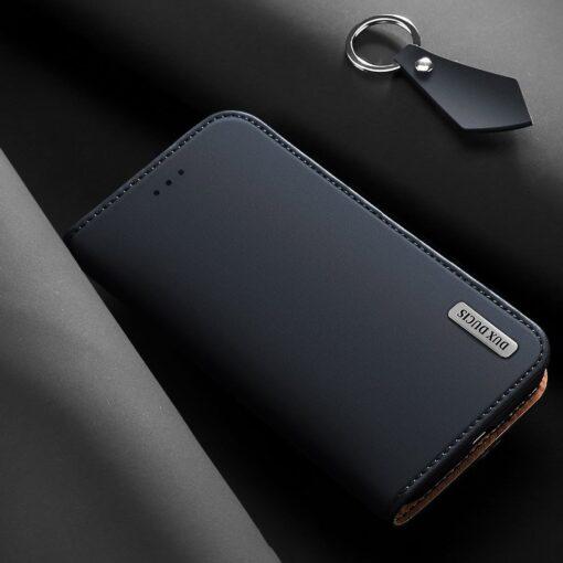 Samsung S10 kaaned nahast kaarditasku ja rahataskuga DUX DUCIS Wish punane 14