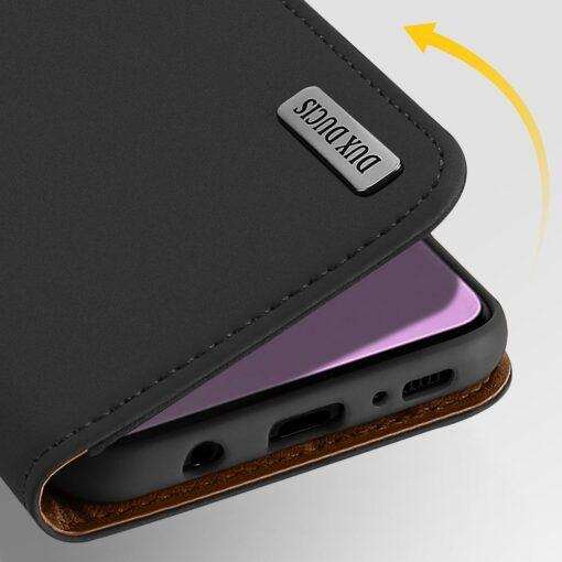 Samsung S10 kaaned nahast kaarditasku ja rahataskuga DUX DUCIS Wish punane 9