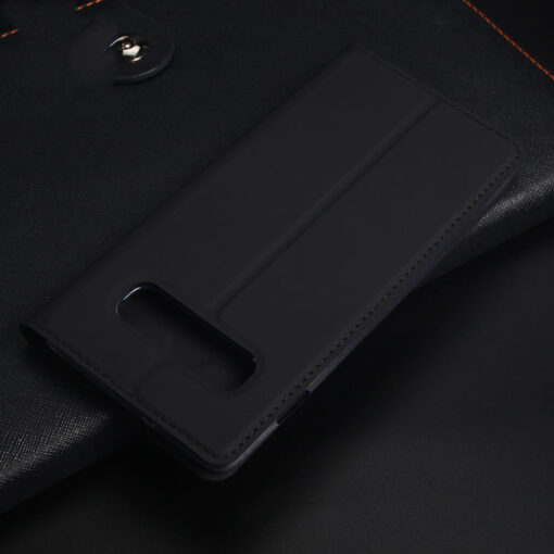 Samsung S10e kunstnahast kaaned DUX DUCIS Skin Pro Bookcase must 17