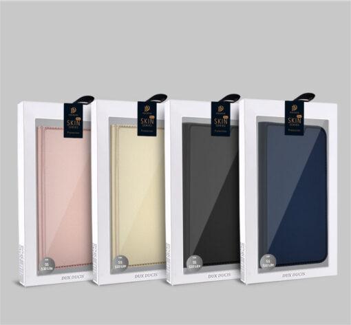 Samsung S10e kunstnahast kaaned DUX DUCIS Skin Pro Bookcase must 20