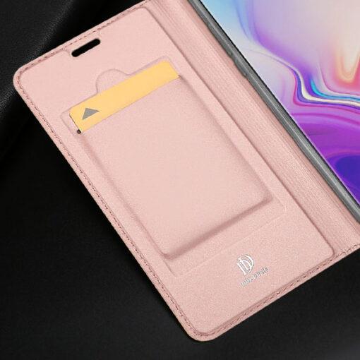 Samsung S10e kunstnahast kaaned DUX DUCIS Skin Pro Bookcase sinine 13