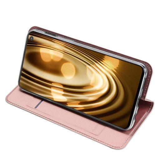 Samsung S10e kunstnahast kaaned DUX DUCIS Skin Pro Bookcase sinine 14