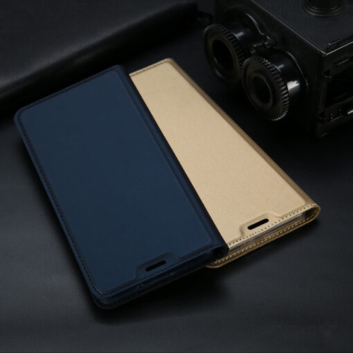 Samsung S10e kunstnahast kaaned DUX DUCIS Skin Pro Bookcase sinine 16