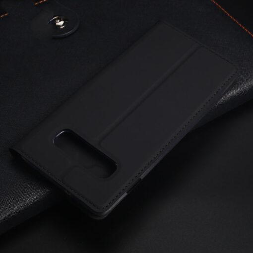 Samsung S10e kunstnahast kaaned DUX DUCIS Skin Pro Bookcase sinine 17