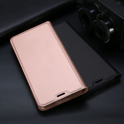 Samsung S10e kunstnahast kaaned DUX DUCIS Skin Pro Bookcase sinine 18