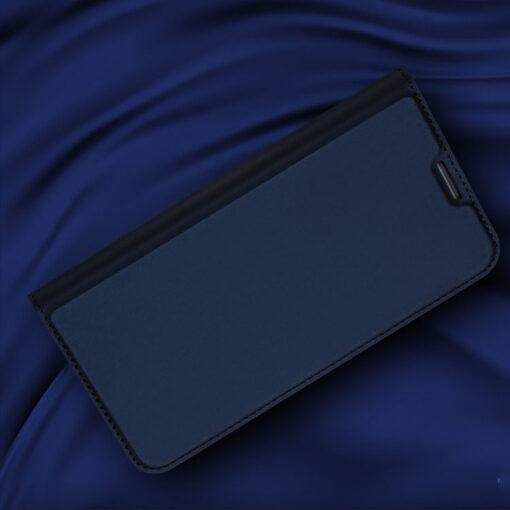 Samsung S10e kunstnahast kaaned DUX DUCIS Skin Pro Bookcase sinine 5