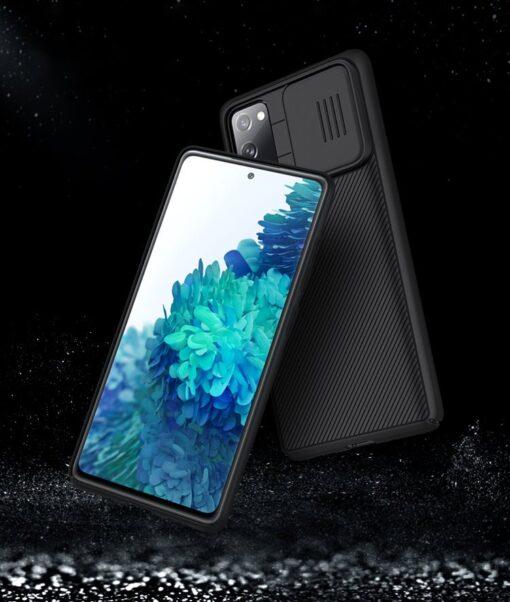Samsung S20 FE umbris Nillkin Camshield 10