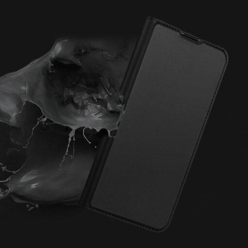 Samsung S20 Plus kunstnahast kaaned DUX DUCIS Skin Pro Bookcase kuldne 8