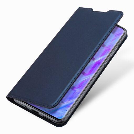 Samsung S20 Plus kunstnahast kaaned DUX DUCIS Skin Pro Bookcase roosa 13