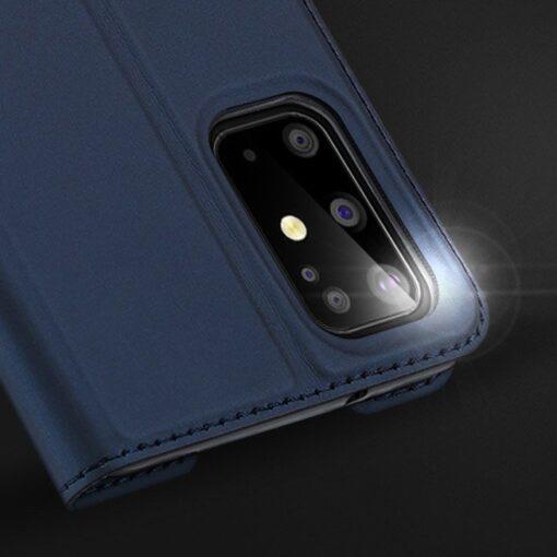 Samsung S20 Plus kunstnahast kaaned DUX DUCIS Skin Pro Bookcase sinine 12