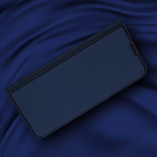 Samsung S20 Plus kunstnahast kaaned DUX DUCIS Skin Pro Bookcase sinine 6