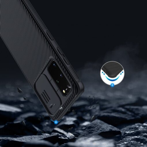Samsung S20 Plus umbris Nillkin Camshield 13